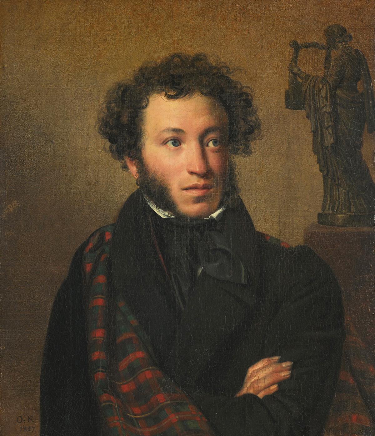 Aleksandr Pushkin ritratto di Orest Kiprenskij