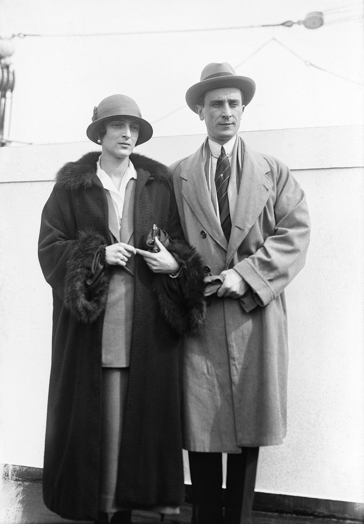 Irina Alexandrovna de Russie avec Felix Ioussoupov
