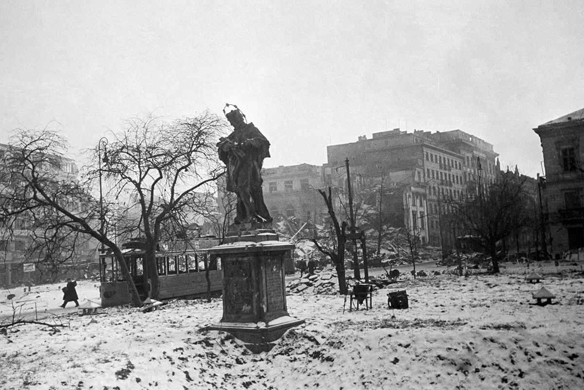 Varsovie libérée