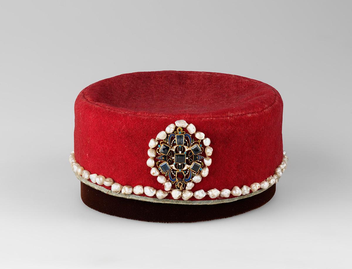 小帽子、ドミトリー皇子のもの、16世紀末