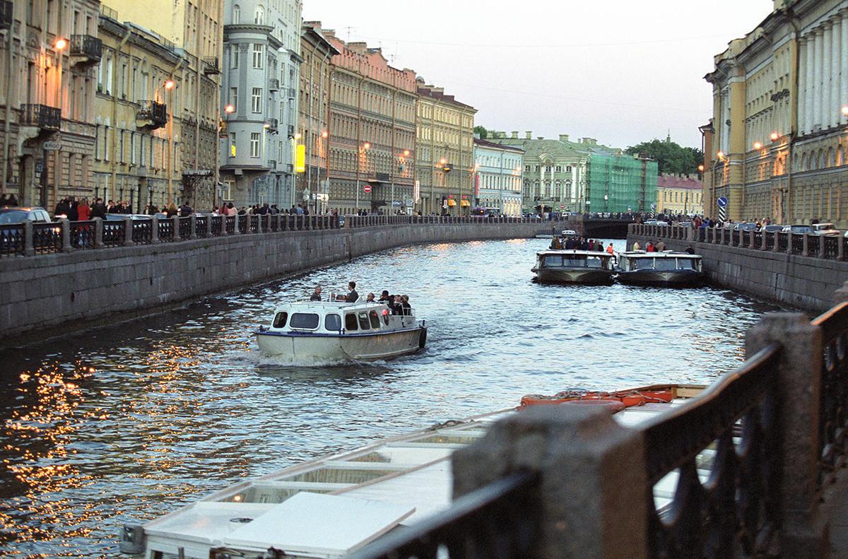 サンクトペテルブルクの白夜