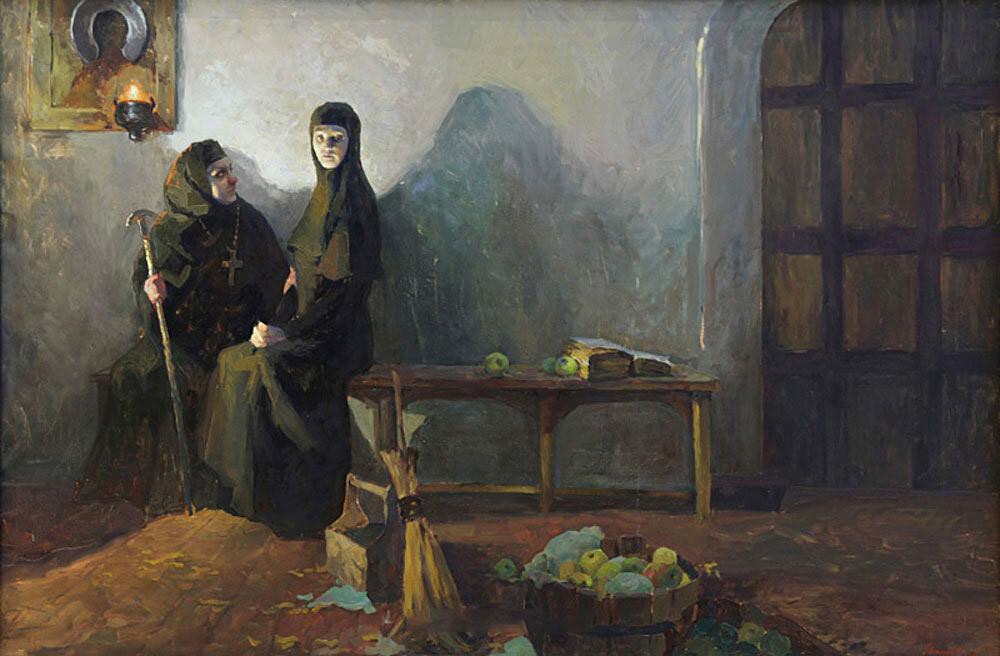 """Solomonia Saburowa. Demut"" von Polina Mineewa."