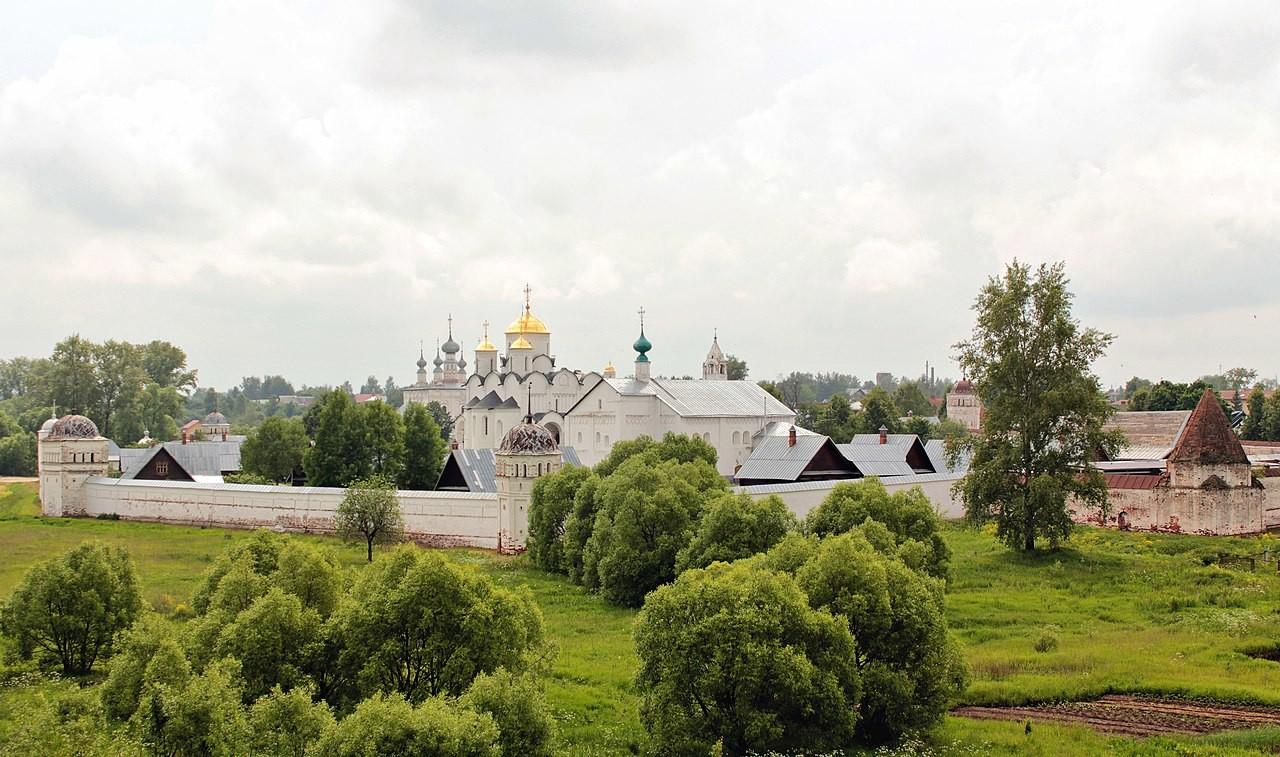 Das Pokrowsk-Kloster, Susdal, Russland.