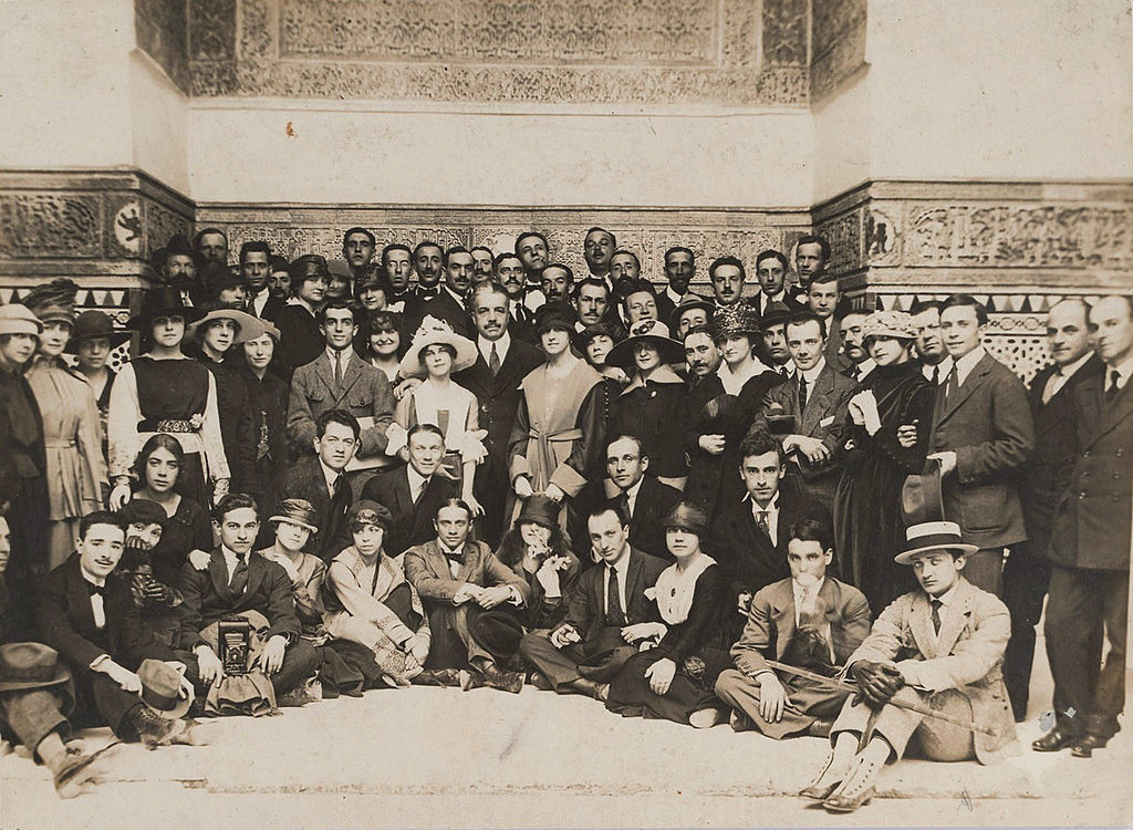 Ballet Russes in Sevilla, Spanien, 1916.