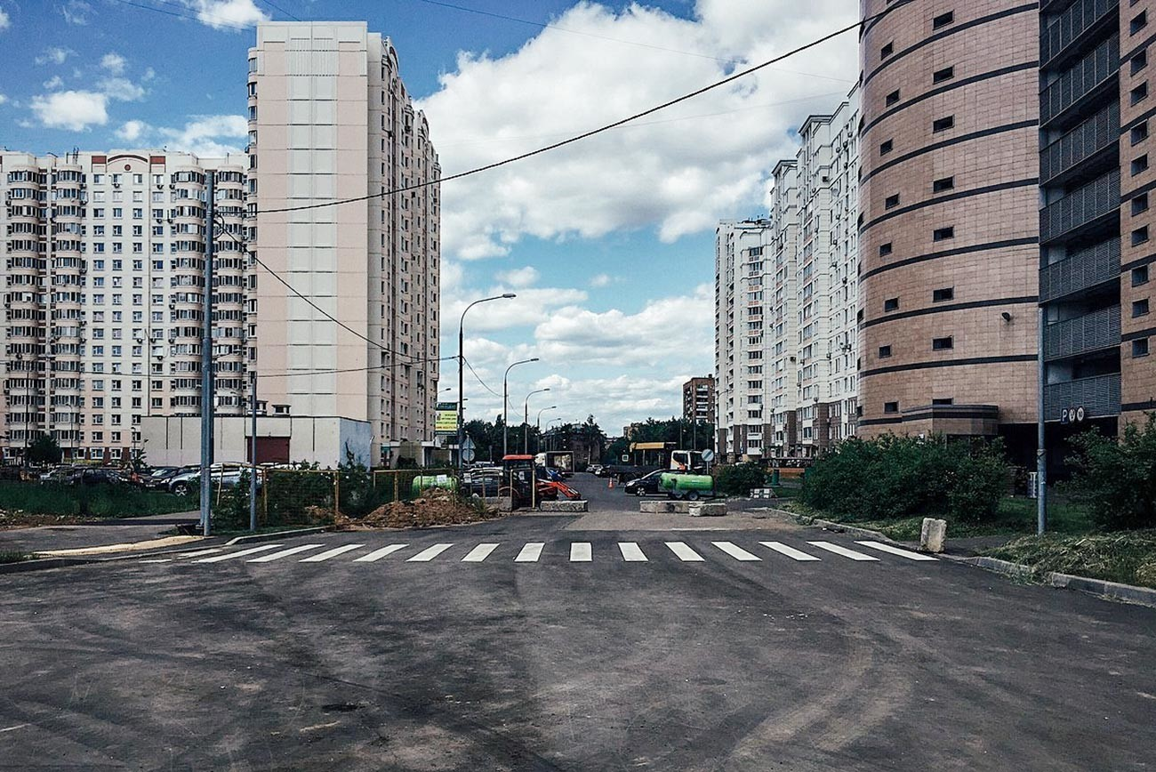 Projektirujemij projezd 590, Moskva