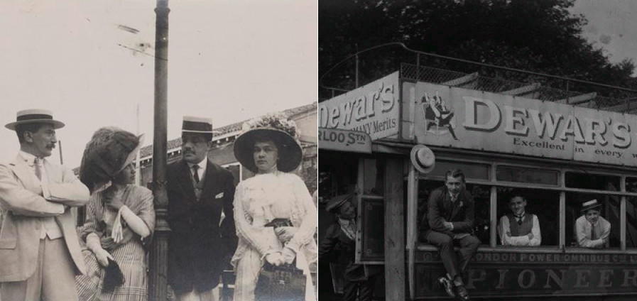 Serge Diaghilev and friends. // Ballets Russes in London.