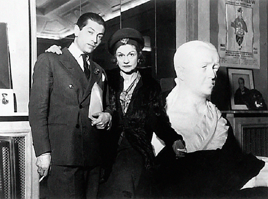 Serge Lifar and Coco Chanel.