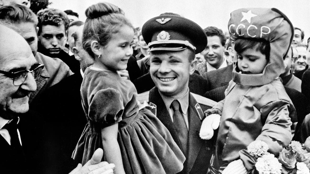 Iouri Gagarine en France, 1963