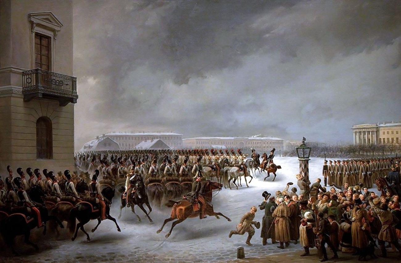 """""""Pemberontakan Desemberis"""" oleh Vasiliy Timm"""