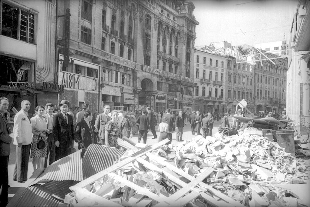 Bucarest en ruines