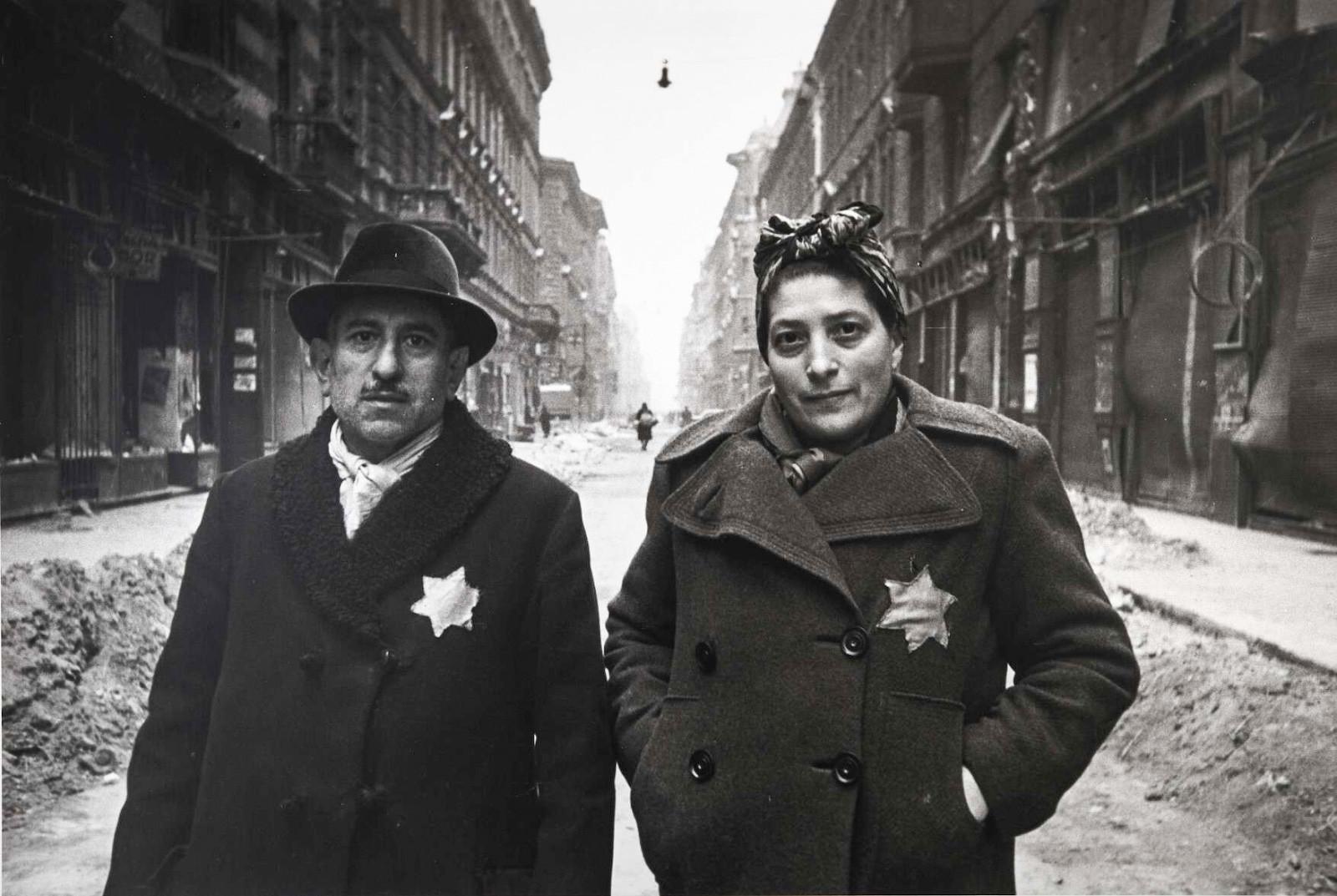 Famille libérée du ghetto de Budapest