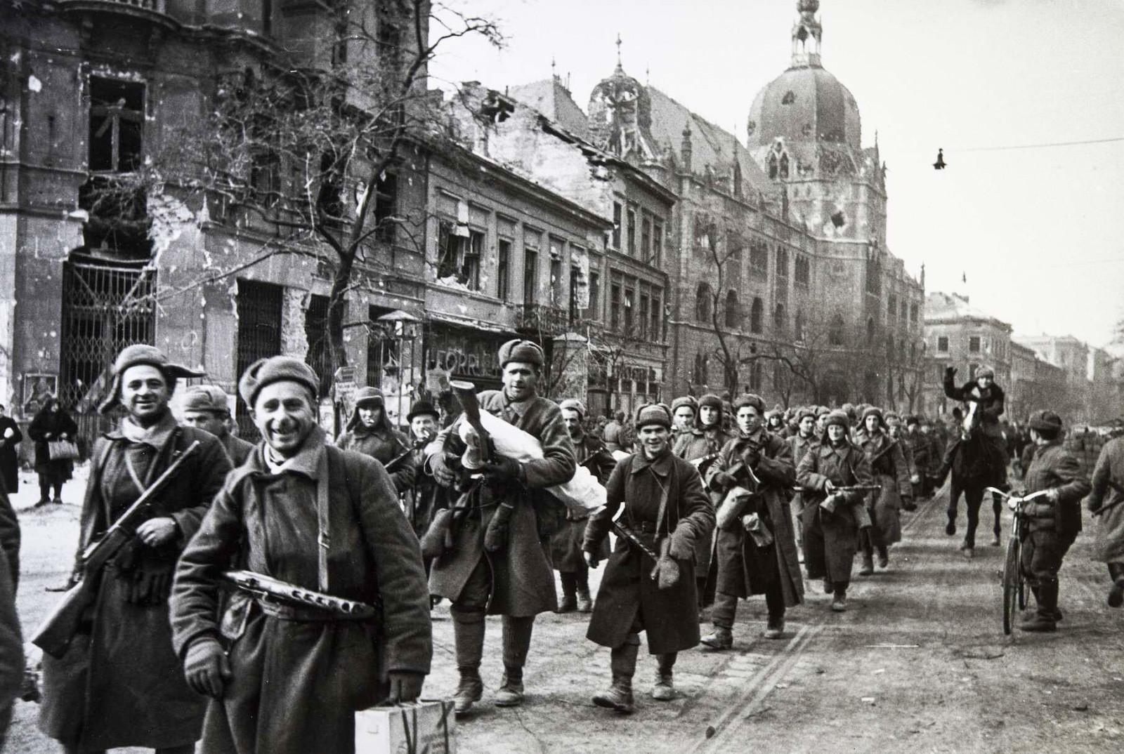 Dans Vienne libérée