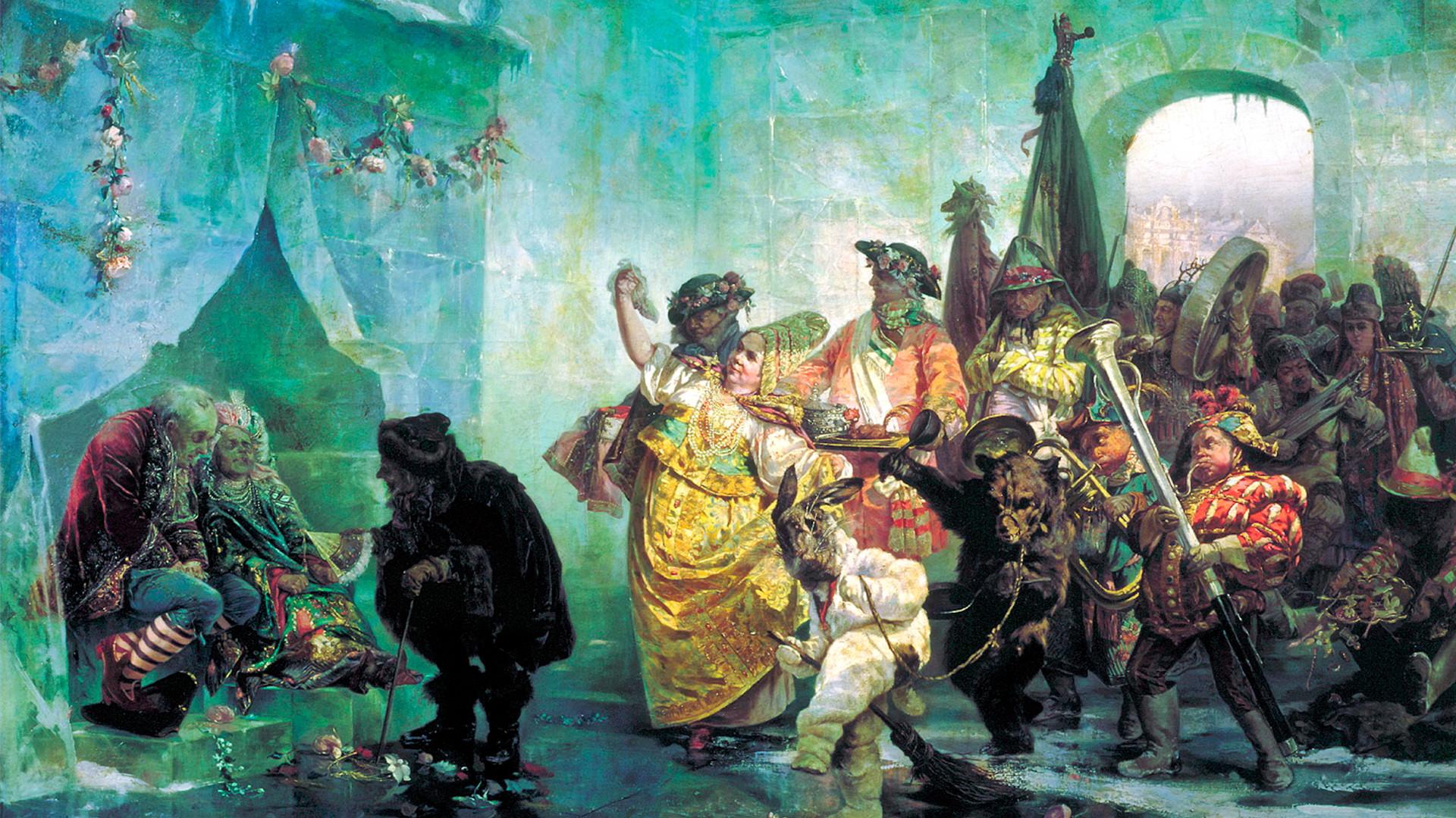 """""""Svadba u Ledenoj palači"""", Valerij Jakobi, 1878."""