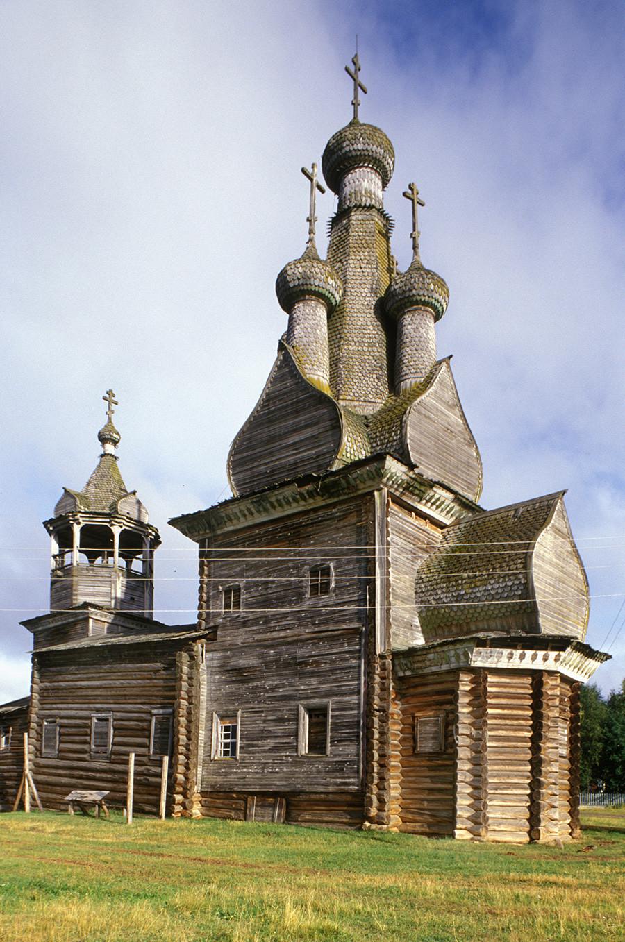 Cerkev ikone Odigitrije, pogled na jugovzhodni del. 1. avgust 2000