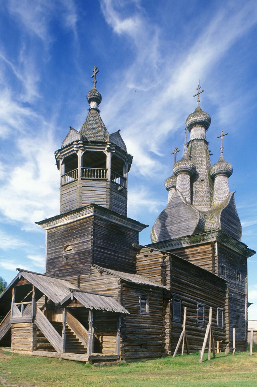 Cerkev ikone Odigitrije, pogled na severozahod. 2. avgust 2000