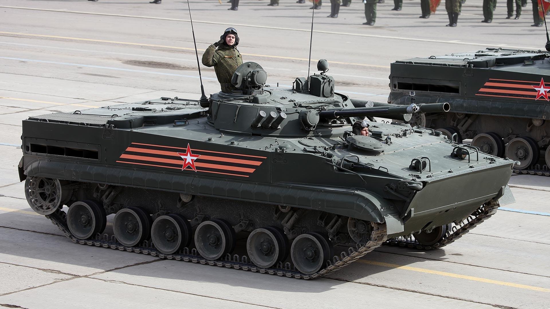 Руско борбено возило на пешадијата БМП-3.