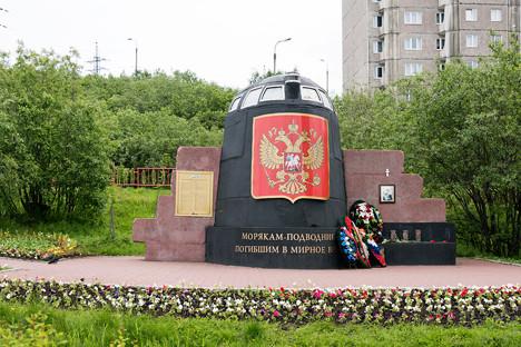Monumen Peringatan Kursk di Murmansk. Sumber
