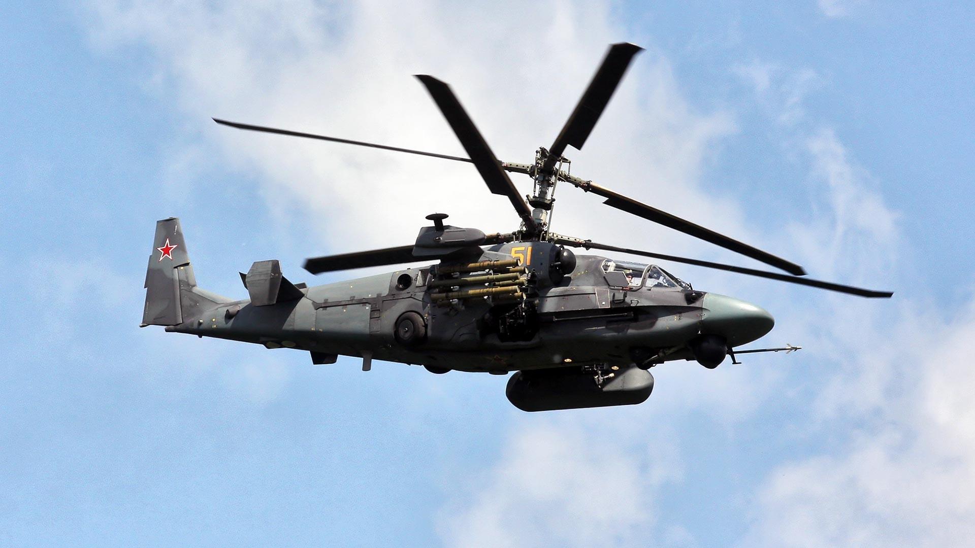 Ka-52ヘリコプター