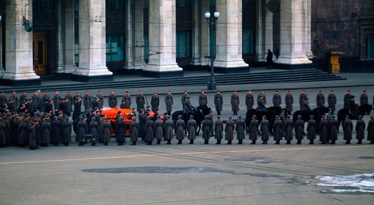 Погребението на Йосиф Сталин