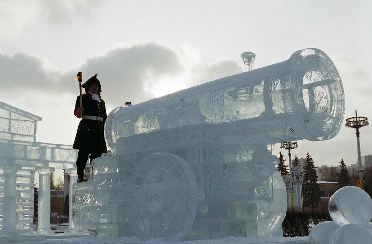 Festival de sculptures sur glace