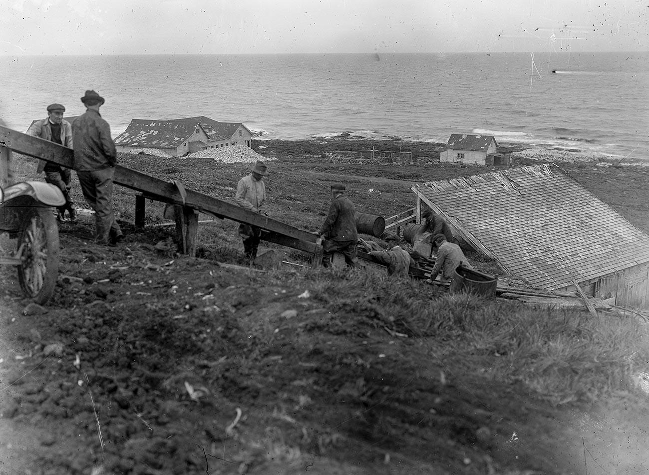 Аляска, 1918.
