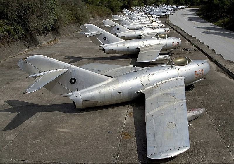 MiG-15bis albanskih zračnih sil