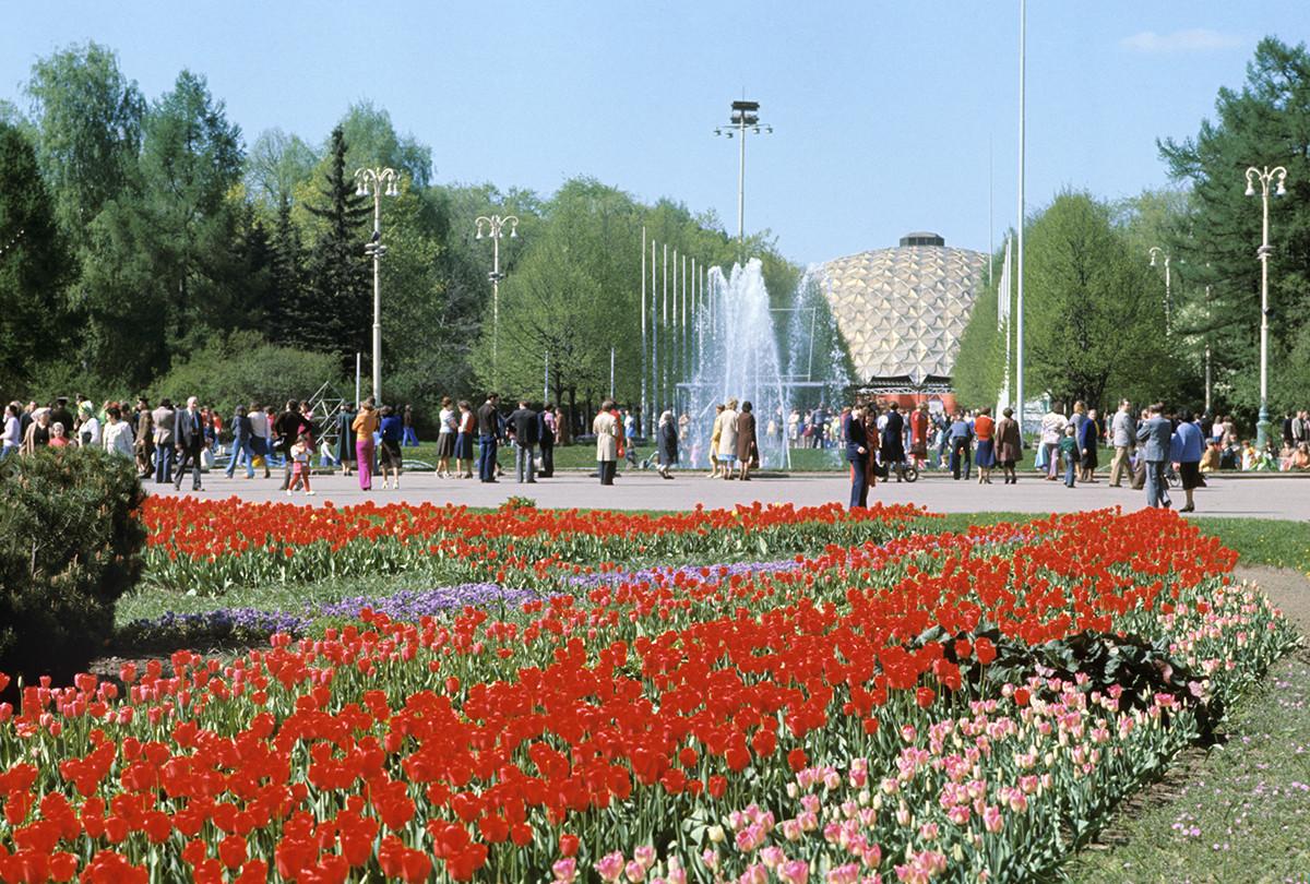 Parque Sokolniki, Moscú
