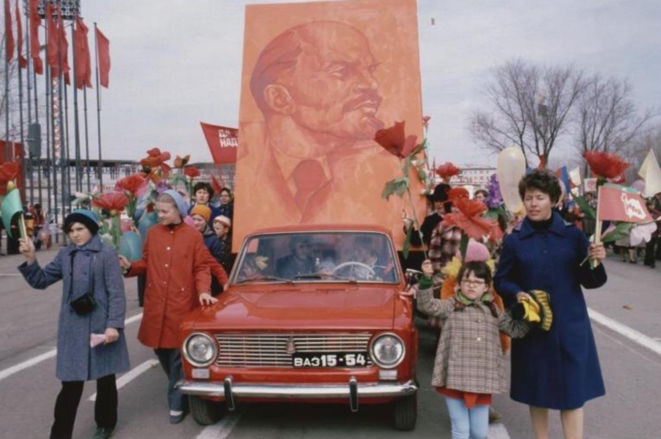 トリヤッティでのメーデー、1981年