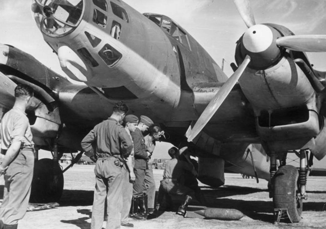 Il bimotore ad ala bassa Heinkel He 111