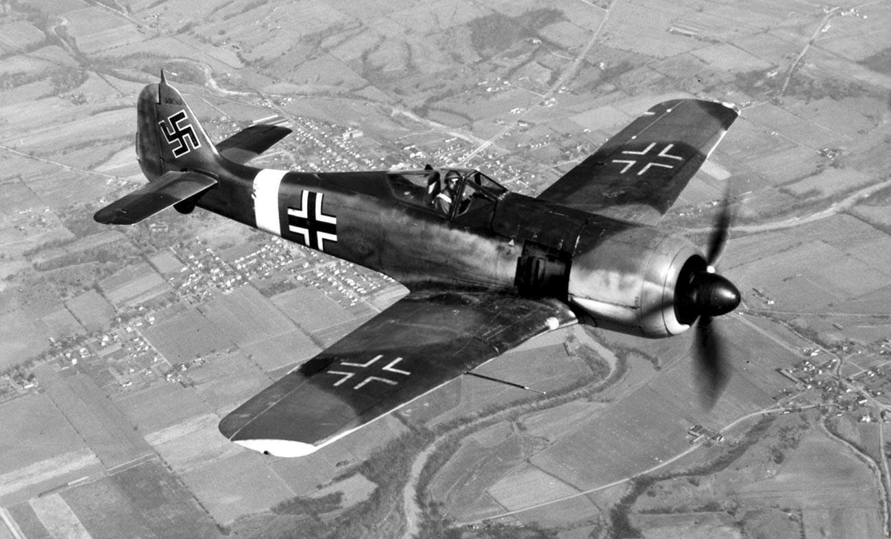 L'aereo da caccia Focke-Wulf Fw 190