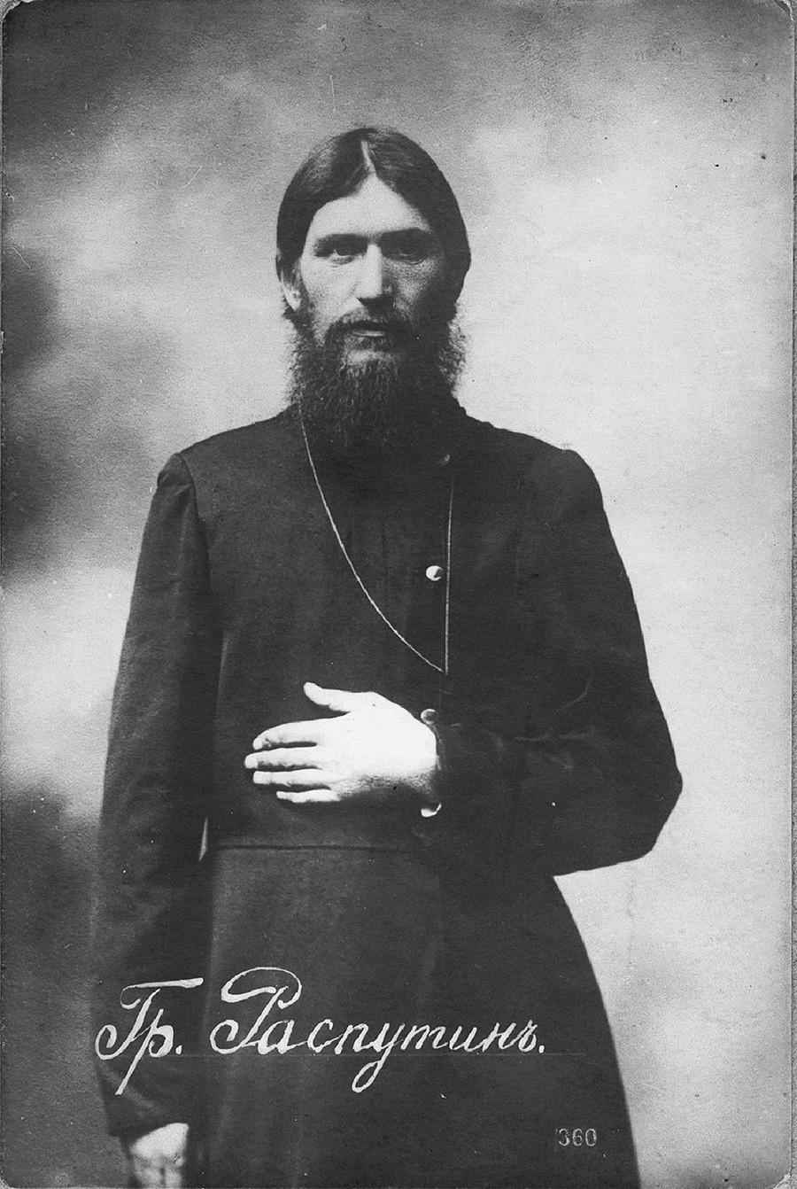 Grigori Rasputin (1869-1916).