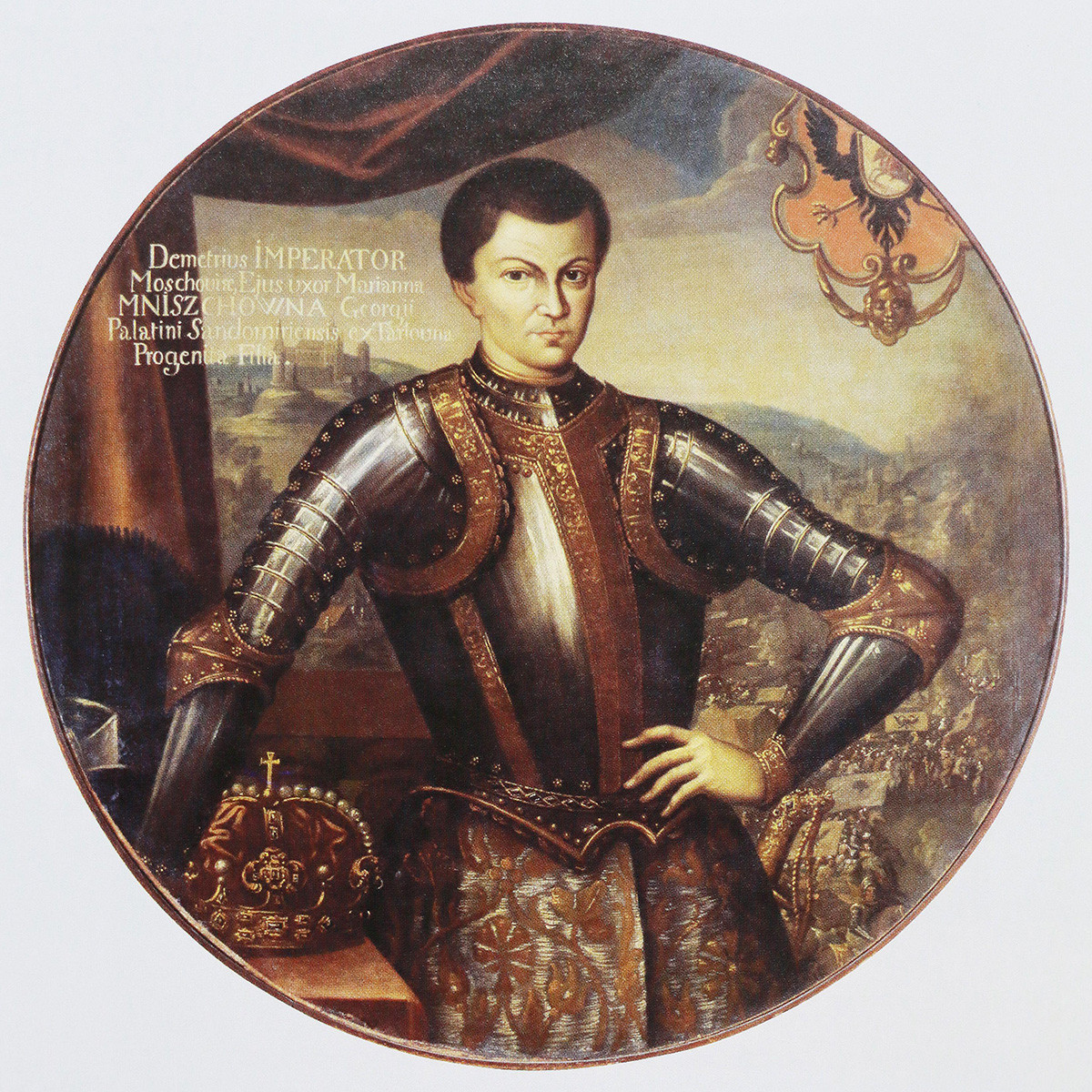 False Dmitry I as the Russian tsar, 1606