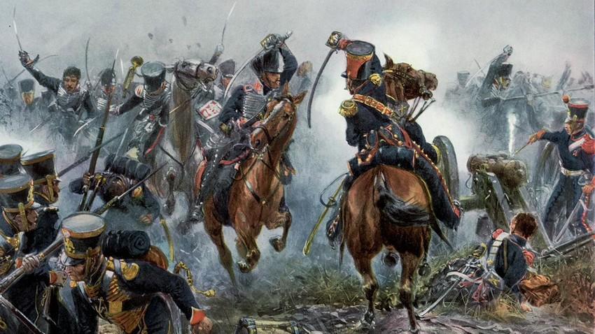 Schlacht von Leipzig.