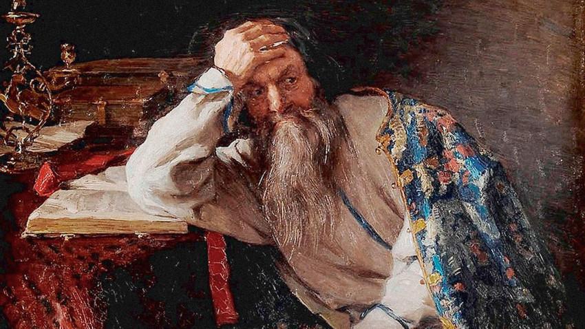 """Klavdij Vasiljevič Lebedev (1852-1916), """"Ivan Grozni"""""""