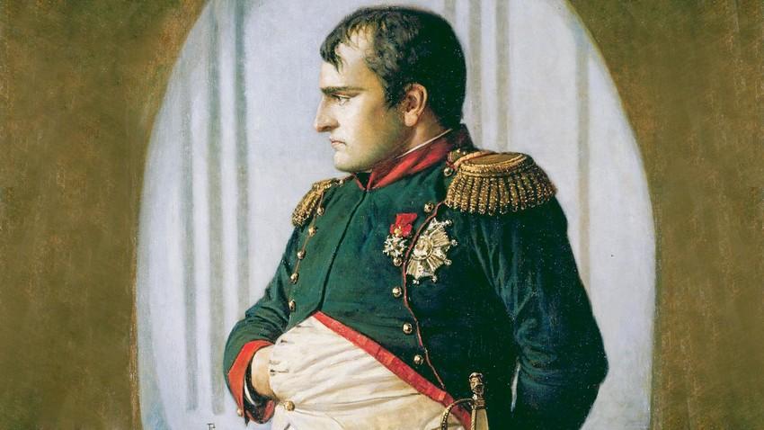 """""""En el palacio Petrovski (Esperando la paz)"""". De la serie de pinturas """"Napoleón en Rusia"""" de Vasili Vereschagin"""