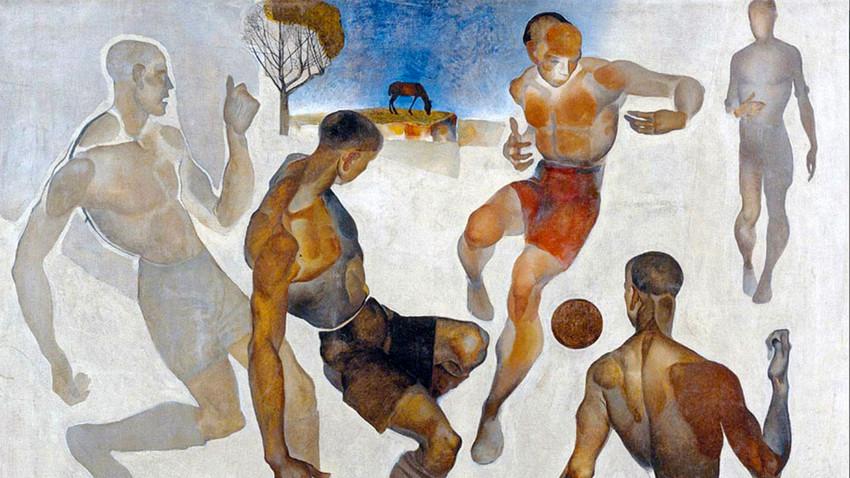 Fußball, 1924. Aleksander Daineka.