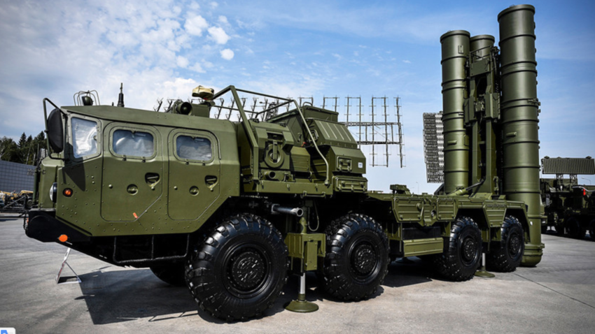 Sistem pertahanan udara S-400