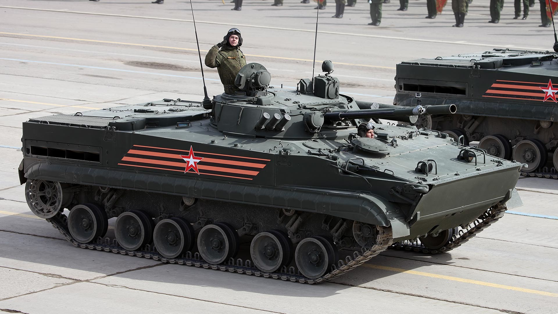 Der BMP-3.