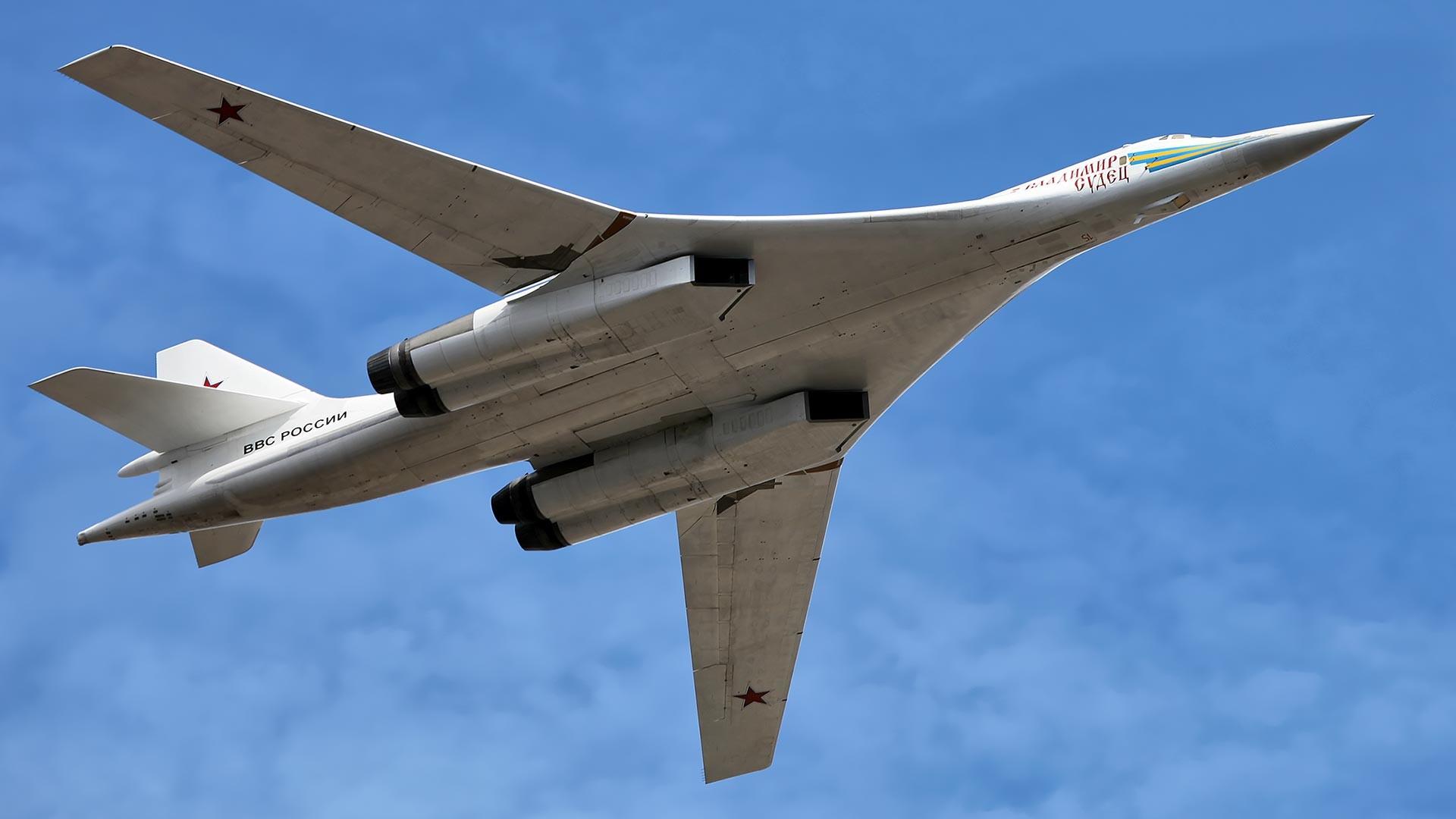 Die Tupolew Tu-160.