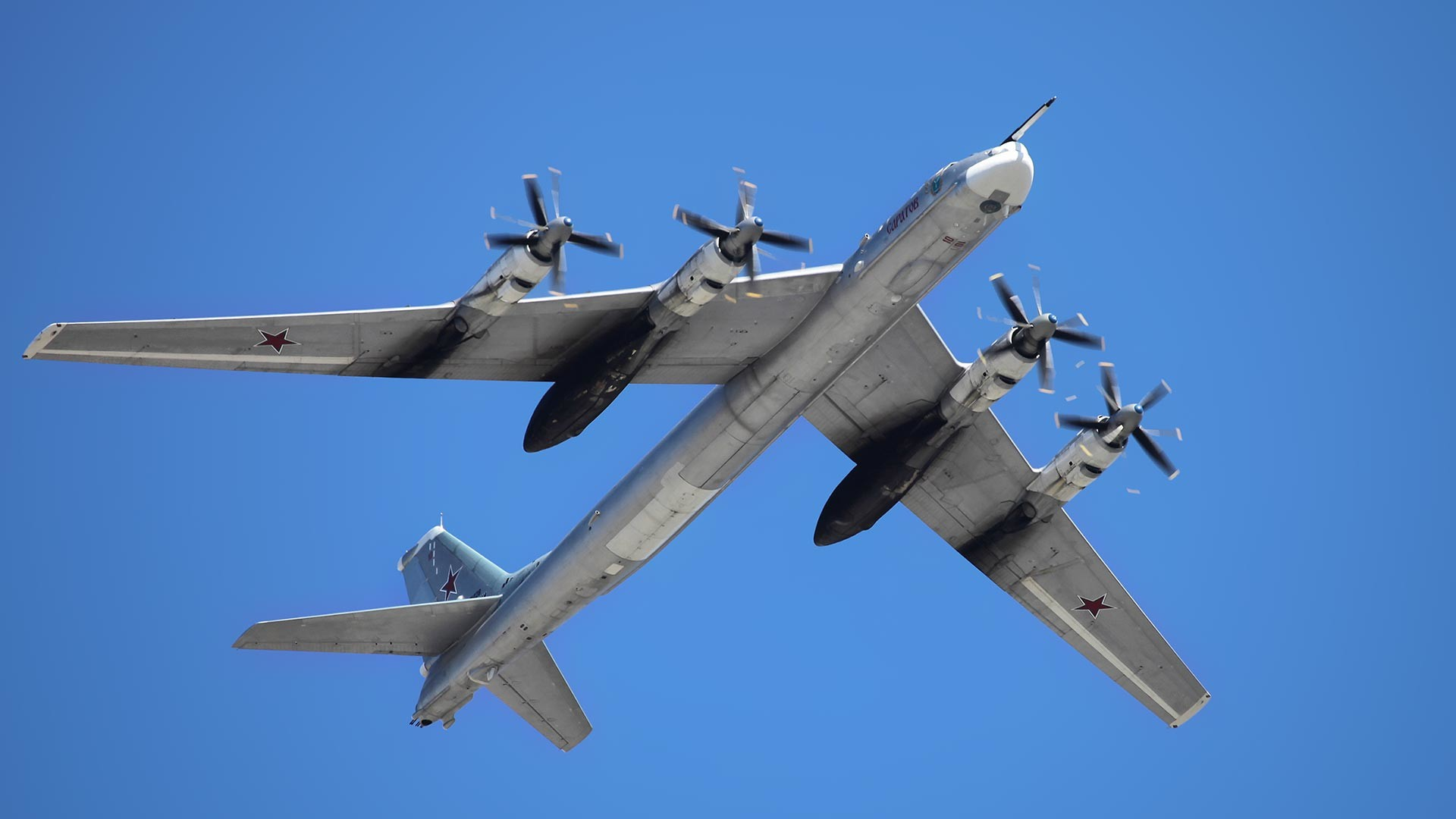 Die Tupolew Tu-95.