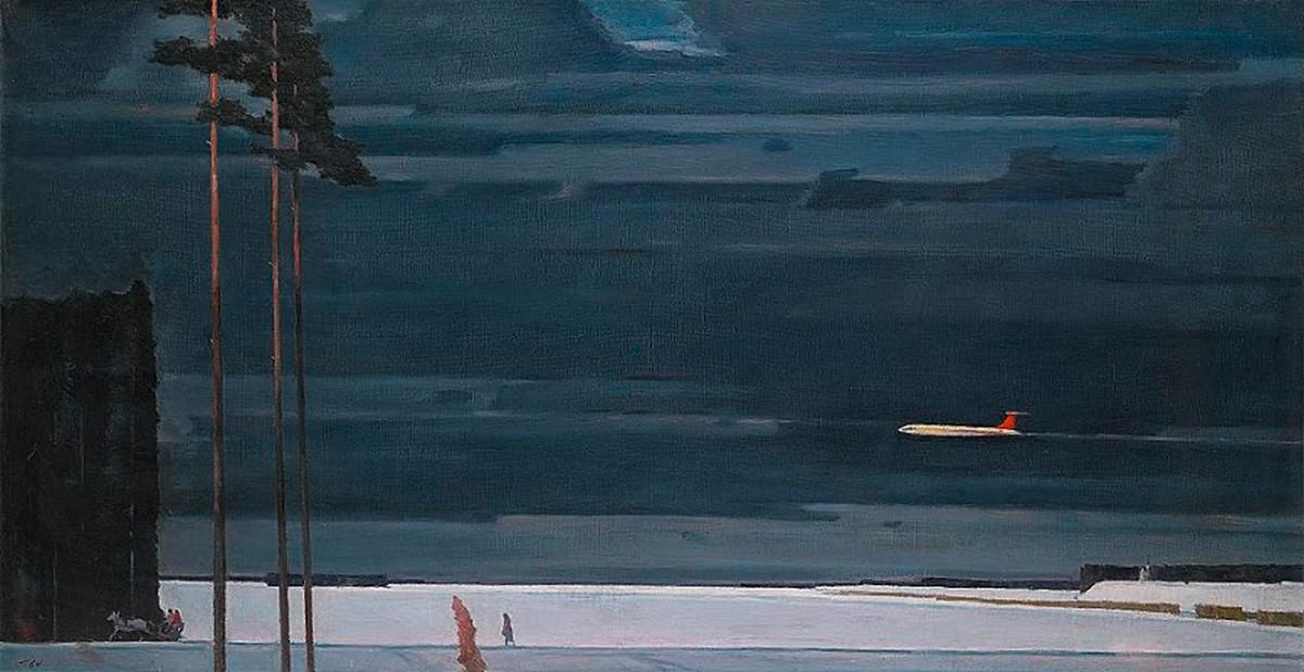 Георгий Нисский. Над снегами, 1964