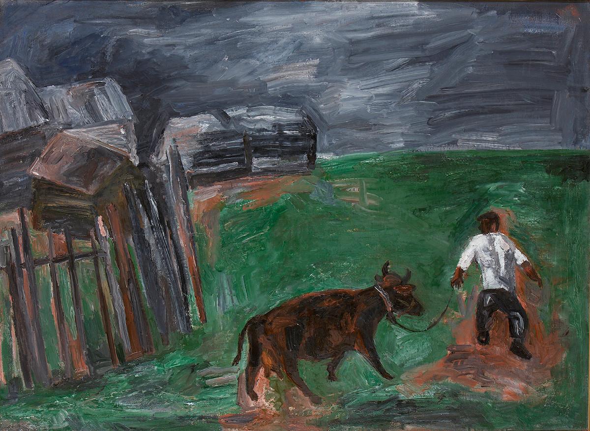 Павел Никонов. Ненастье, 1984