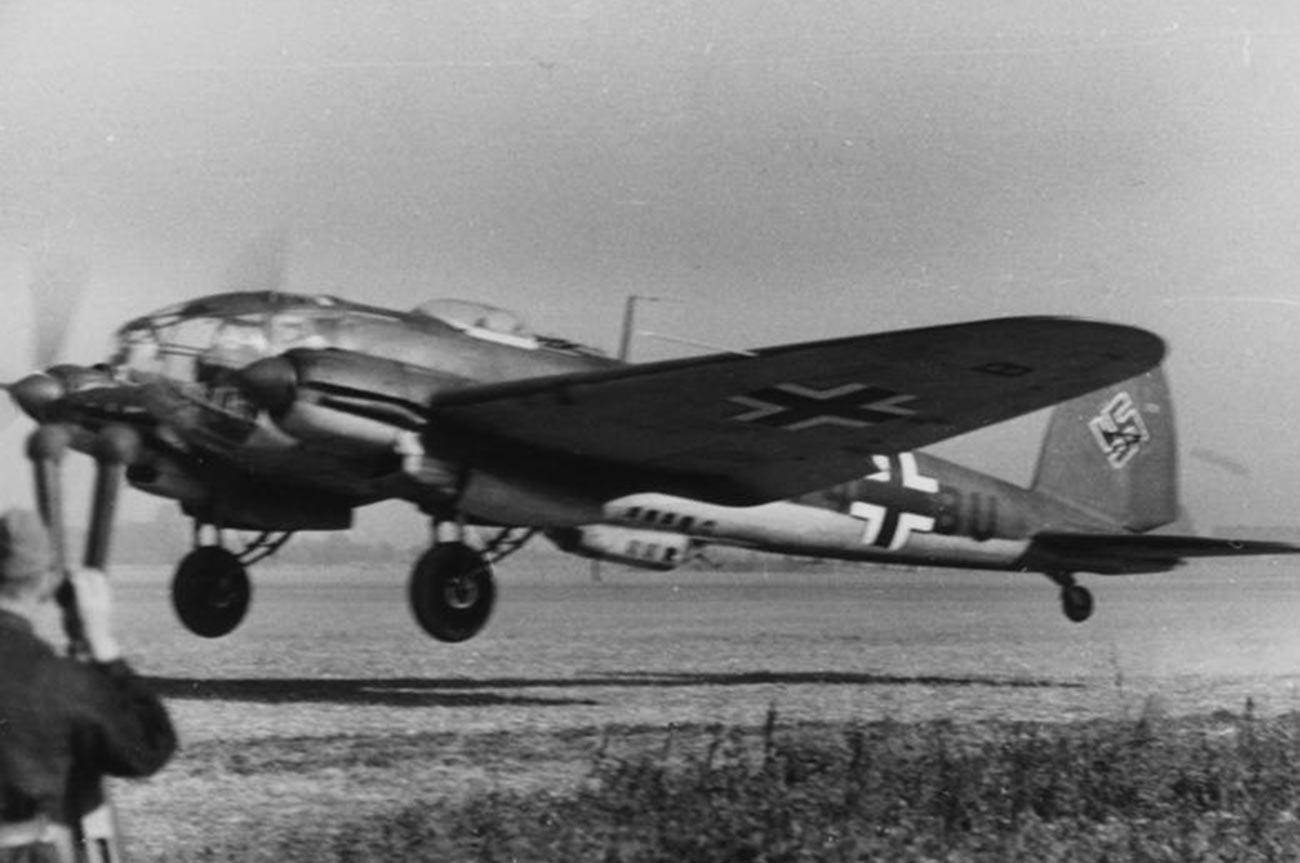 Bomber Heinkel He 111.