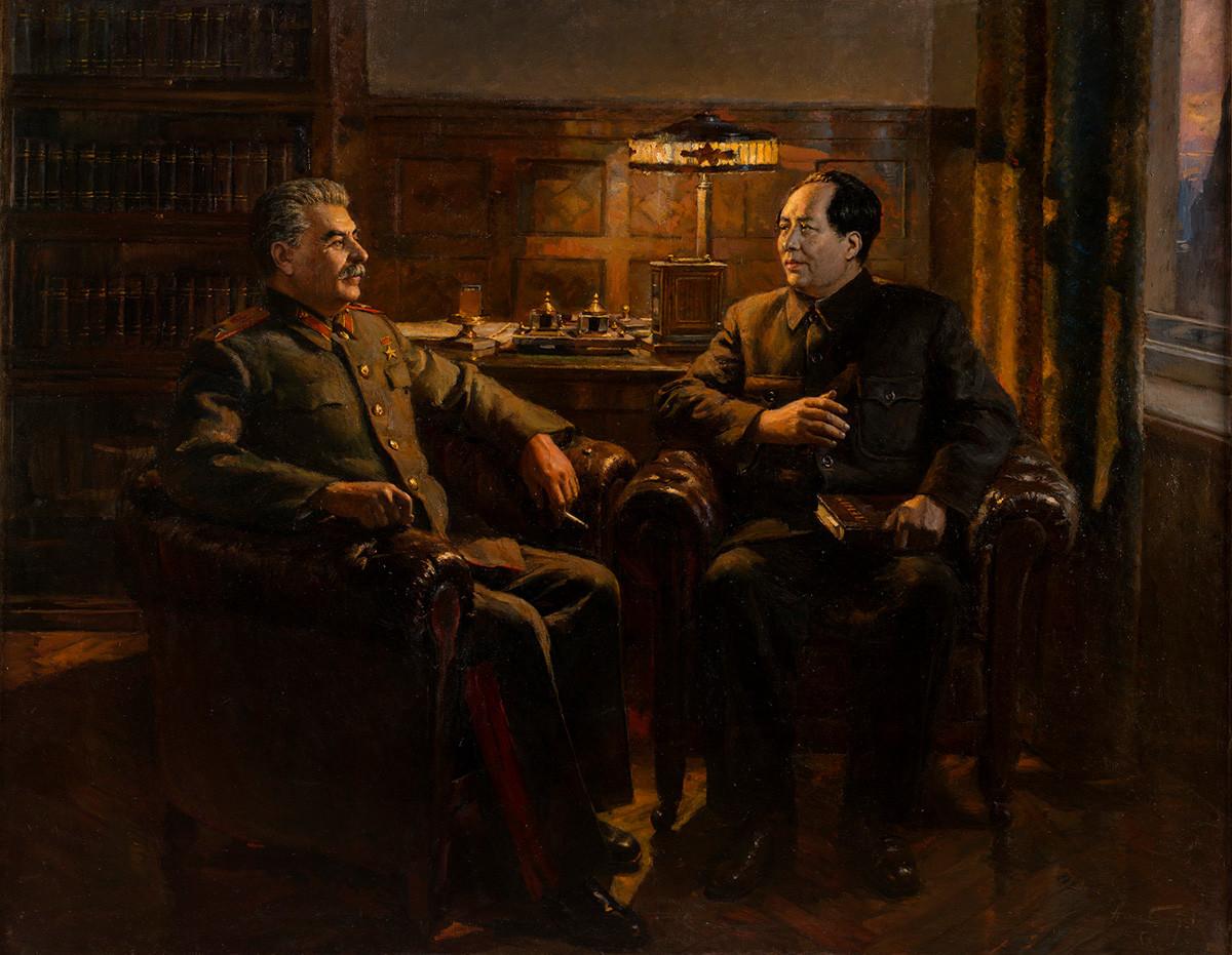 Dmitry Nalbandyan. The Great Friendship, 1950