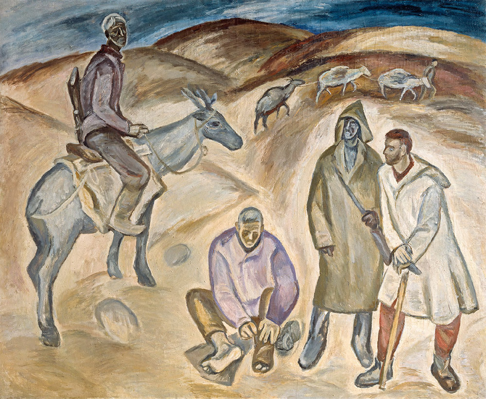 Pavel Nikonov. Geologists, 1962