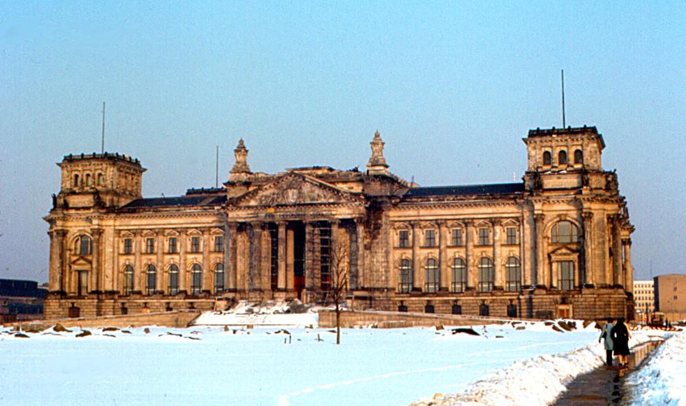 Reichstag leta 1970 pred rekonstrukcijo