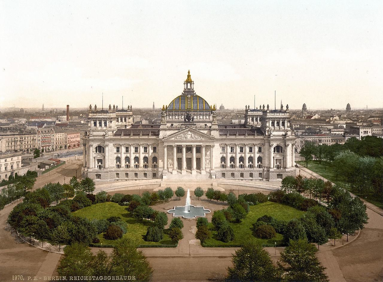 Reichstag med leti 1894 - 1900