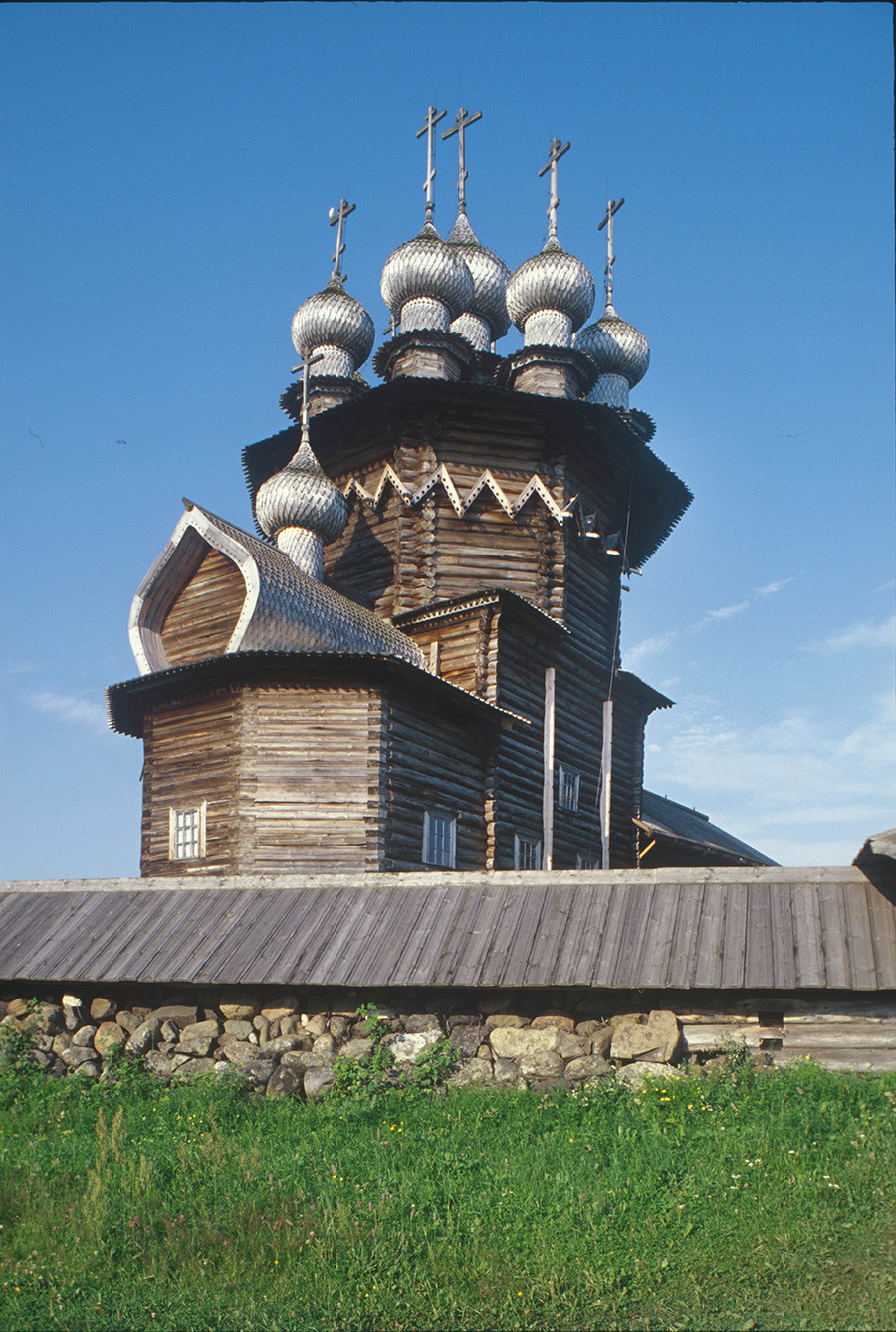 Church of the Intercession, northeast view. July 13, 2007