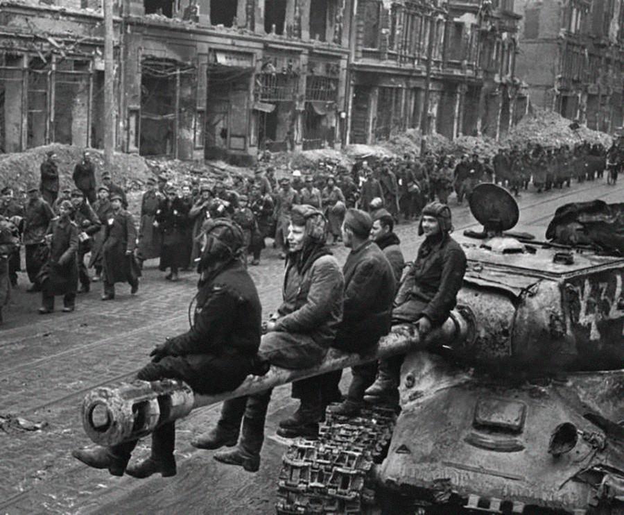 Berlin le 2 mai 1945. Victoire!