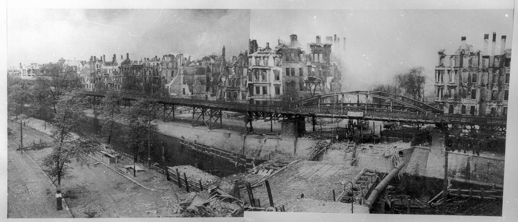 Ruines autour du Landwehrkanal